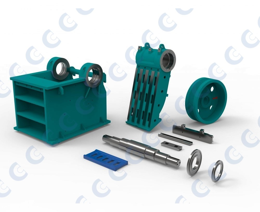Powerscreen® Jaw Crusher Spares & Replacements | CMS Cepcor Ltd