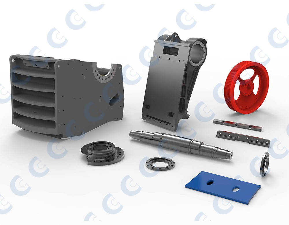 Sandvik® Jaw Crusher Spares & Replacements | CMS Cepcor Ltd