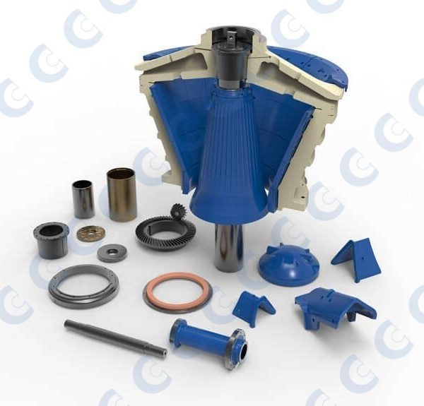 CMS Cepcor primary gyratory crusher parts
